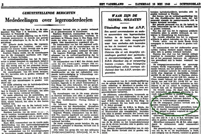piershil-oorlog-soldaten-krantenbericht