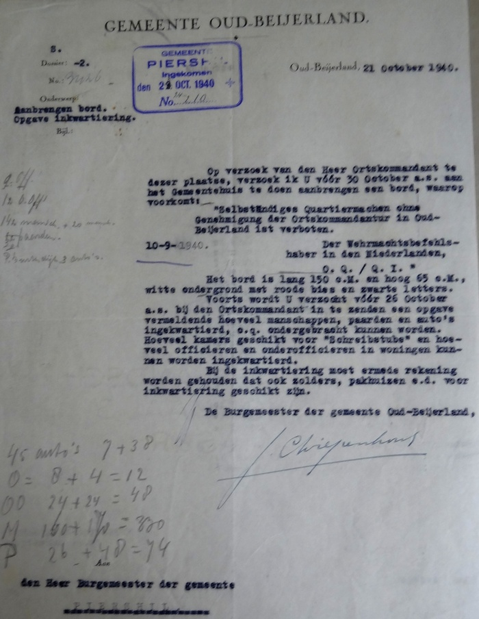 piershil-wo2-inkwartieringsvergoedingen-1940-06
