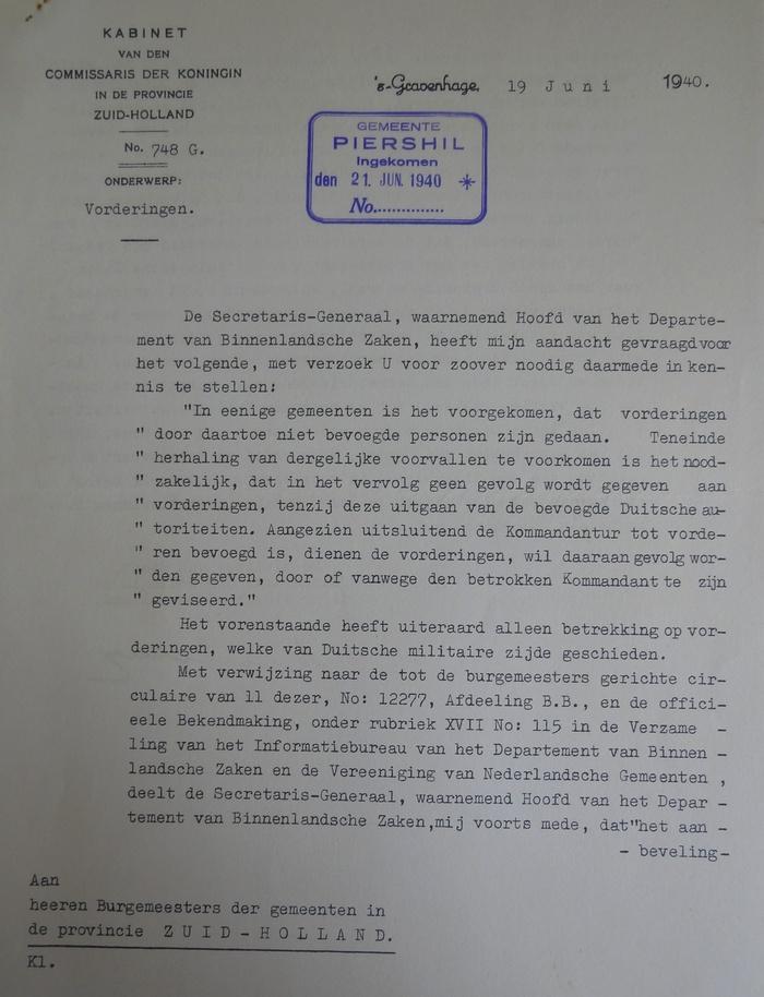 piershil-wo2-inkwartieringsvergoedingen-1940-09