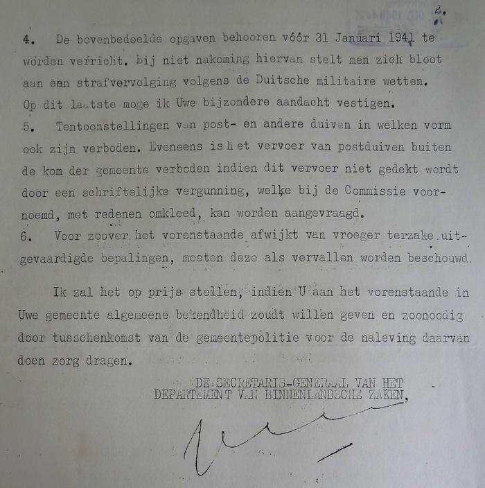 piershil-wo2-maatregelen-postduiven-december1940-02