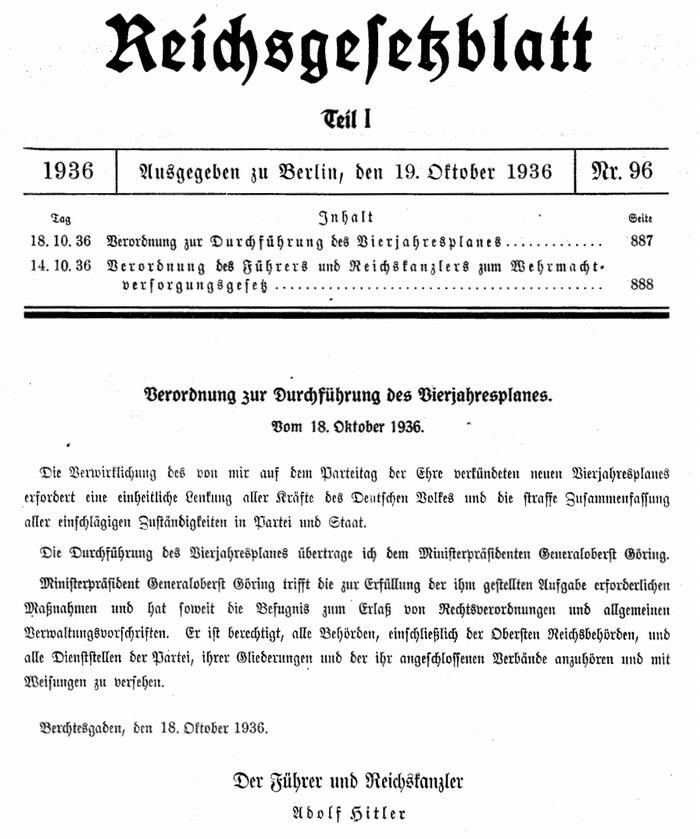 vierjahresplan-1936