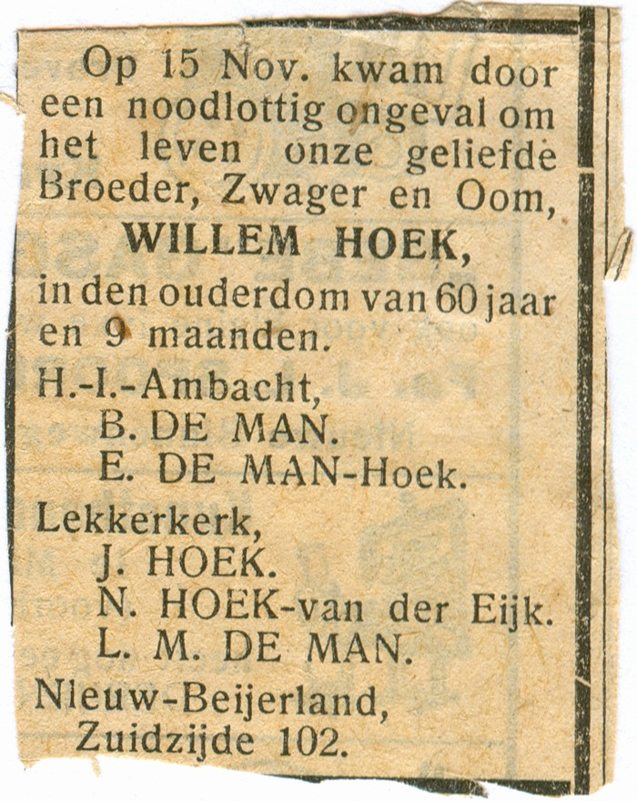 willemhoek-advertentie-krant