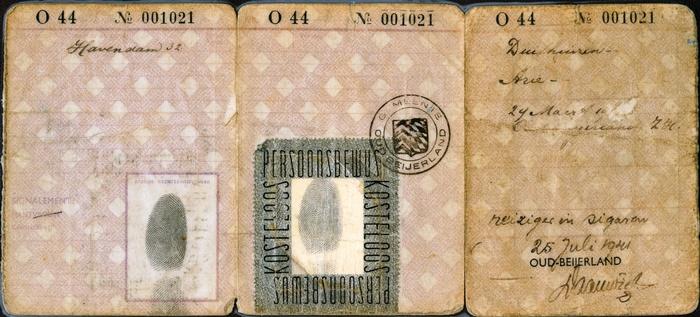 oud-beijerland-persoonsbewijs-arie-duifhuizen-achter