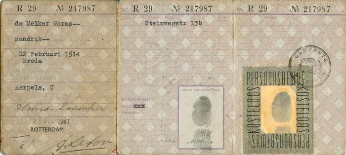 rotterdam-persoonsbewijs-hendrik-de-melker-worms-achter