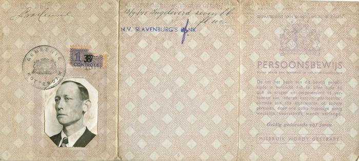 rotterdam-persoonsbewijs-leendert-vanden-heuvel-voor