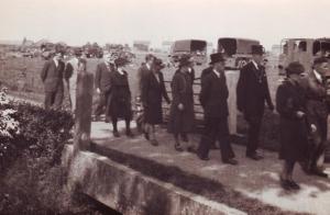 Begrafenis Jaap van Breda, mei 1945