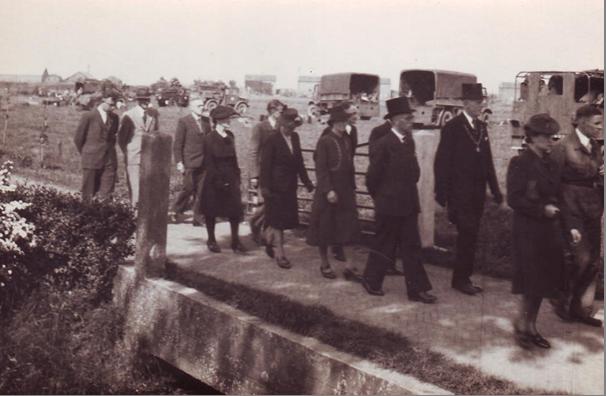 Begrafenis Jaap van Breda, 6 mei 1945