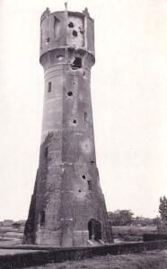 Watertoren 's-Gravendeel - schade WO2