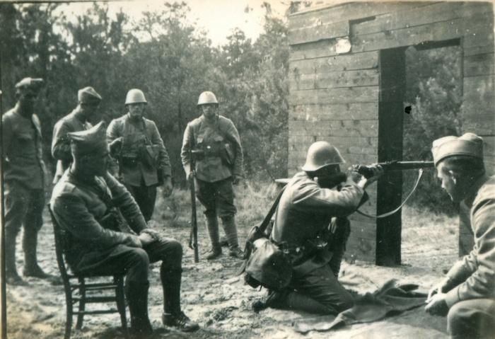 mobilisatie-schietoefeningen