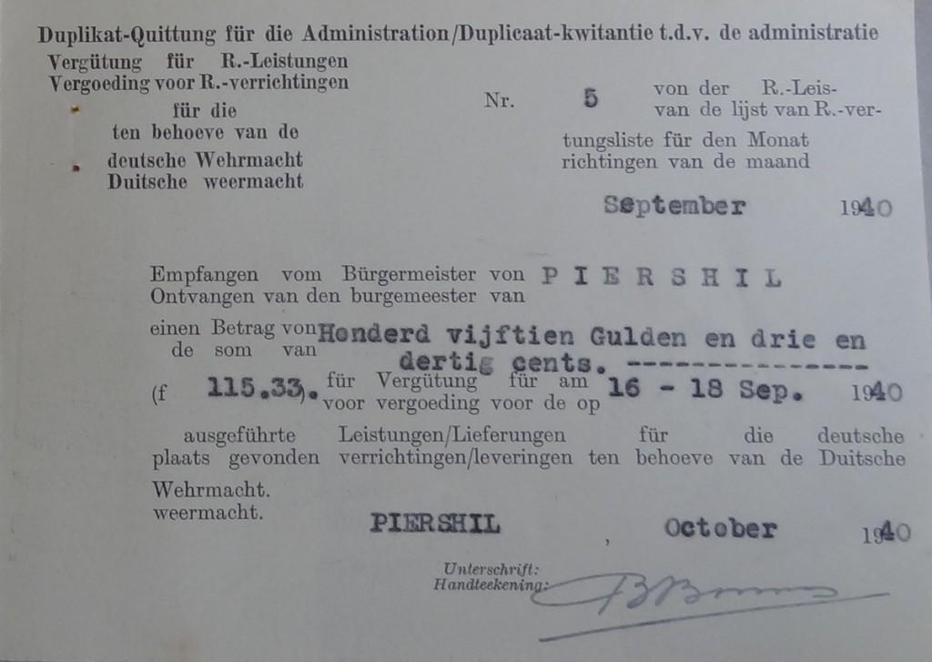 piershil-wo2-kwitantie-wehrmacht-1940-06