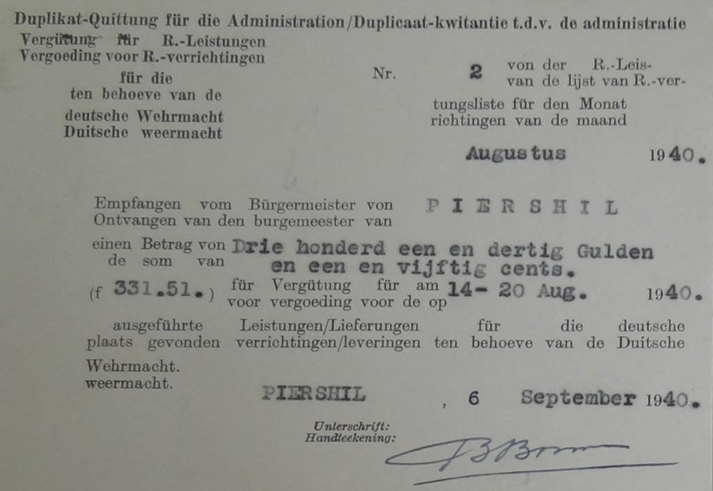 piershil-wo2-kwitantie-wehrmacht-1940-07
