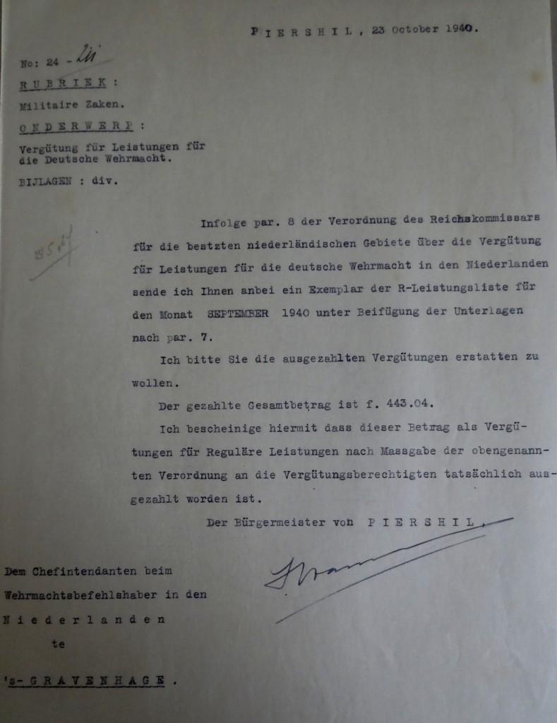 piershil-wo2-verzoek-vergoedingen-wehrmacht-duits