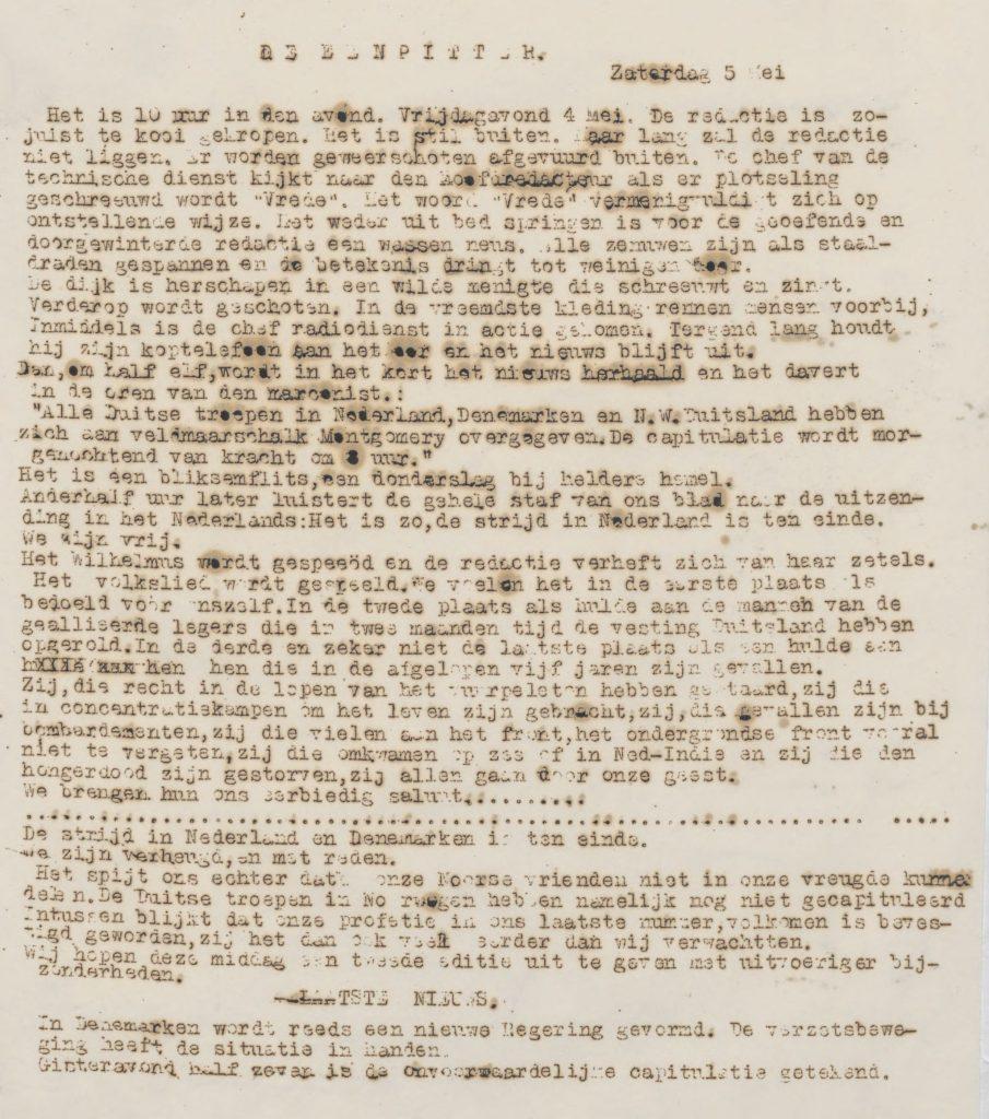 De eenpitter 05-05-1945
