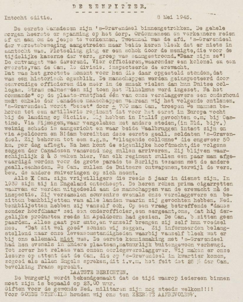 De eenpitter 08-05-1945