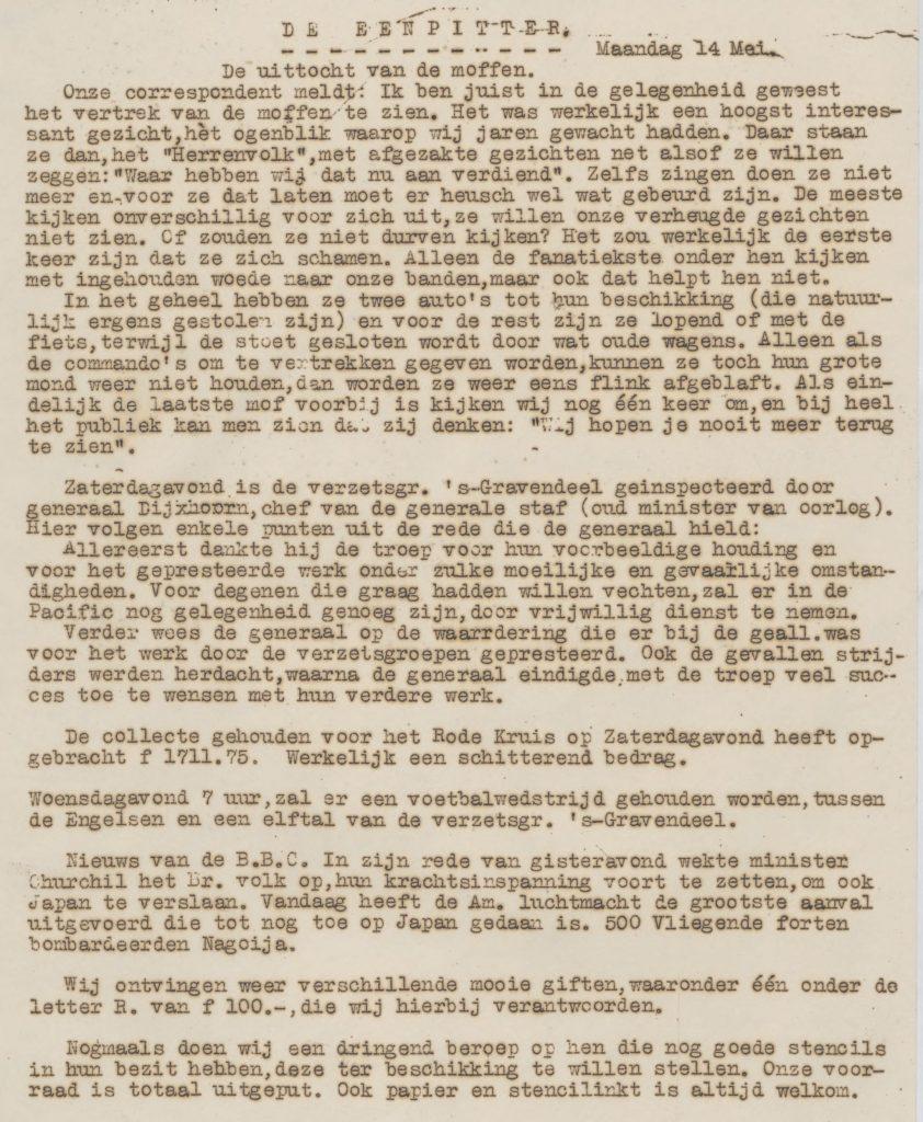 De eenpitter 14-05-1945