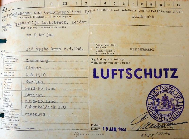 luchtbeschermingsdienst-strijen-pieter-groeneweg-1944