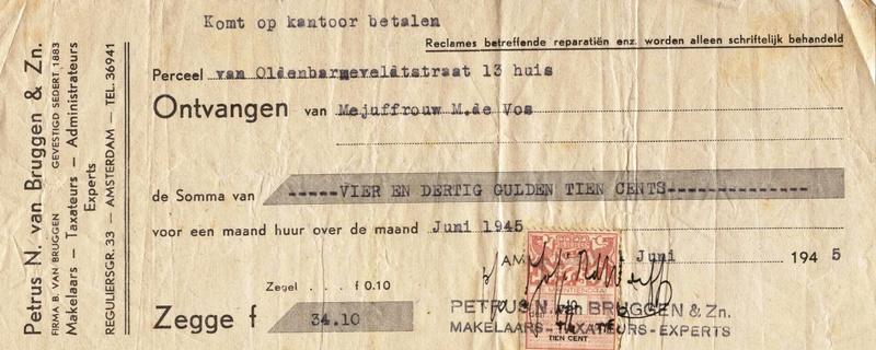 maria-de-vos-amsterdam-vanoldenbarneveldstraat13-1945