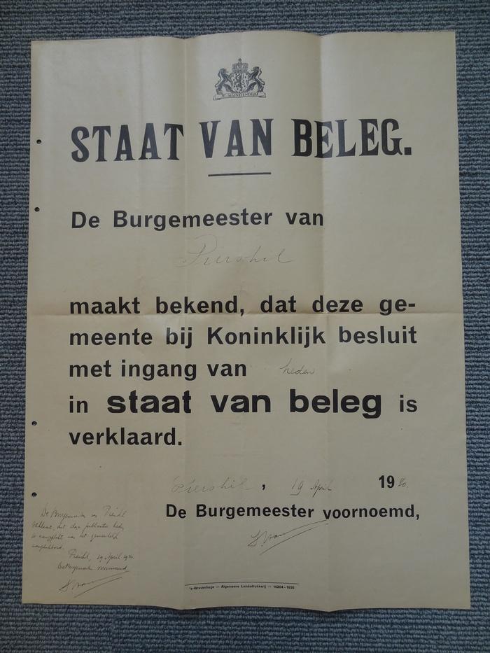 1940-poster-staat-van-beleg-piershil